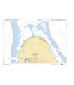 6280 - Partie Nord de Raiatea - Port d'Uturoa -Carte marine Shom papier