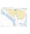 6281 - Partie Sud de Tahaa - Carte marine Shom papier