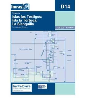 D14 Islas Testigos, La Tortuga, La Blanquilla