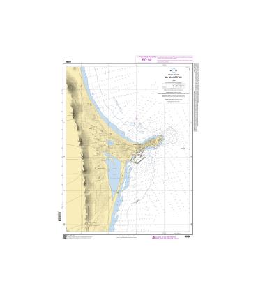 4086 Al Mahdiyah Carte Marine Shom