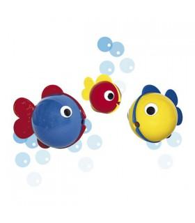 3 poissons à bulles