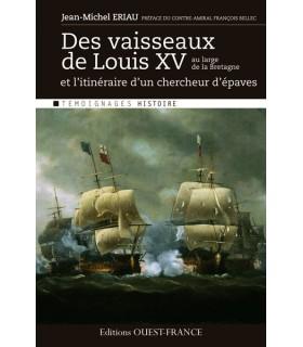 Des vaisseaux de Louis XV au large de la Bretagne