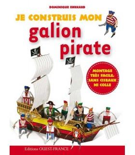 Je construis mon galion pirate