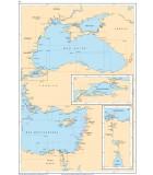 Méditerranée Mer Noire - Mer de Marmara - Méditerranée Orientale - Carte marine papier