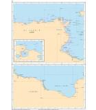 Méditerranée Algérie - Tunisie - Libye- Carte marine papier