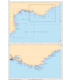 Méditerranée Côte Sud France - Côte Nord Est Espagne - Carte marine papier