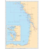 Atlantique Côte Sud Ouest de France - Côte Nord Espagne - Carte marine papier