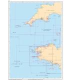 Atlantique La Manche Ouest - Carte marine papier