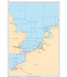 Mer du Nord - Pas de Calais - La Manche Est - Carte marine papier