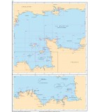 Atlantique La Manche centre - Carte marine papier