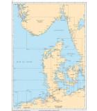 Mer du Nord Scandinavie - Carte marine papier