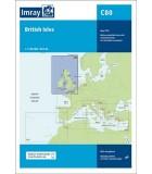 Iles britaniques et Nord Ouest de l'Europe - Carte marine papier