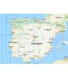 Espagne - Carte marine papier