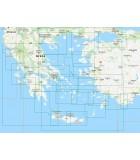 Grêce et Turquie - Carte marine papier