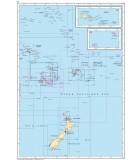 Polynésie partie Ouest - Carte marine papier