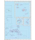 Polynésie partie Est - Carte marine papier