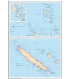 Vanuatu - Nouvelle Calédonie - Carte marine papier
