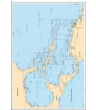 Golfe du Mexique - Mer des Caraïbes - Carte marine papier