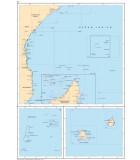 Maurice - Réunion - Seychelles - Carte marine papier