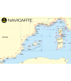 Navicarte Méditerranée - carte marine papier