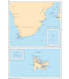 Océan Indien - Afrique du Sud - Carte marine papier