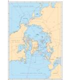 Océan Arctique - Passage du Nord Ouest - Carte marine papier