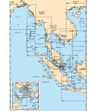 Indonésie - Thailande - Birmanie - Carte marine papier