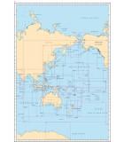 Océan pacifique : Routiers, cartes océaniques