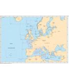 Carte marine SHOM Europe