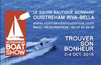 Logo Normandie Boat show
